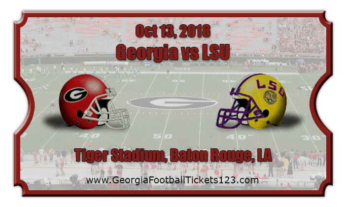 2018 Georgia Vs LSU