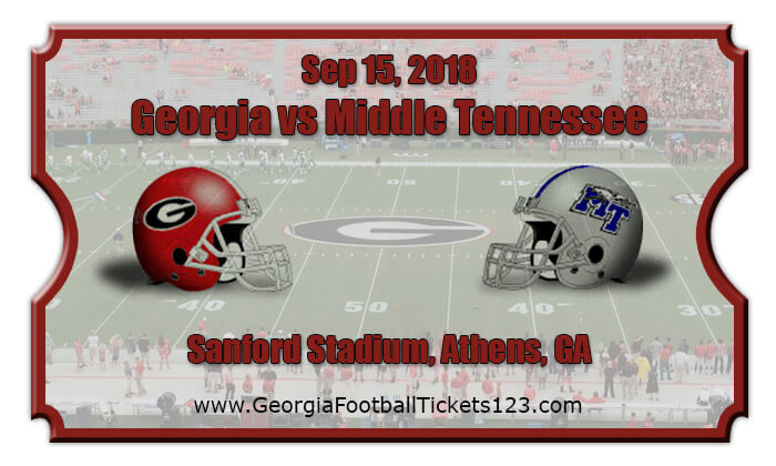 2018 Georgia Vs Middle Tennessee